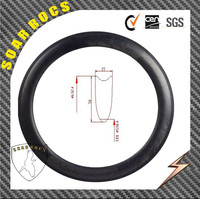 Chinese factory bicycle rims 50mm tubular marble clincher carbon bicycle wheels 23mm width with carbon road bike rim