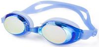 17years professional adjustable headbrand silicone swim goggle PC lens