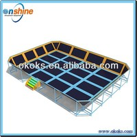 2013 new design bungee trampoline park for sale