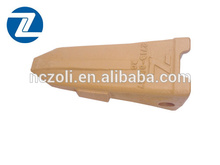 Daewoo piezas excavadora dientes de la cuchara para 713-00057rc excavadora daewoo dh130-5rc