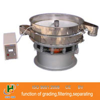 round stainless steel sieve shaker for ultra powder