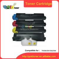 color TK590 TK594 compatible for Ecosys P6026CDN toner cartridge for kyocera