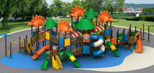 Top level/manufacture/playground equipment tree house slides