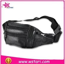 Multi Function Vintage Genuine Leather Cowhide Men Waist Bag Shoulder Messenger Cross Body Chest Bag Pack Bags Man