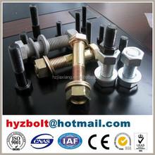 Grade 10.9/12.9 high strength hex bolt and nut