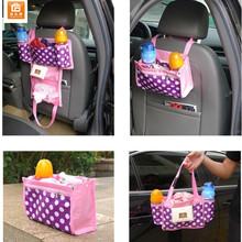 Diaper Tote Bag Diaper Bag Liner 3 in 1 Multifunctional Car Kids Back Seat Organizer