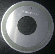 Etching stainless steel round encoder wheel with etched logo