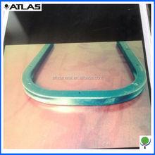 custom square tube bending service,customised design fabrication in steel tubes