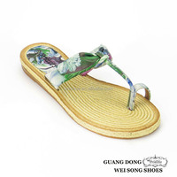 Hot sale TPR sole china fashion new design country style toe ring slipper