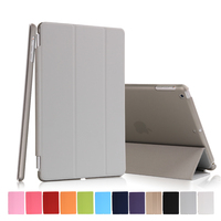 New Arrival Manufactory Three Fold Stand Magnetic Flip Cover Smart Awakening Case for iPad mini 1/2/3 for Apple mini 1/2/3