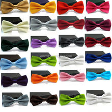 Cheap wholesale colorful ribbon bow tie fashion self tie bow tie for sale BOT4000