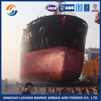 Luhang salvage lifting launching rubber airbags