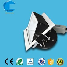 special rectangle rotatable 20W cob led downlight, using for shops wall washer lighting