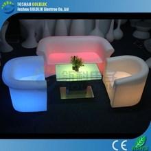 glacs de control de sistema de iluminación led de muebles uno solo asiento cojines grandes sofás