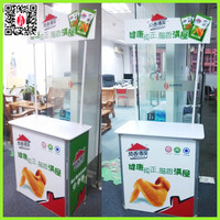 Portable Decroative promotion Table for Sale with Chicken wings Logo