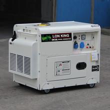5kw Slient Diesel Generator/alternator With 10hp Engine