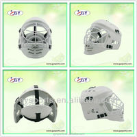 Cool style,Floorball hurling helmets to protect players
