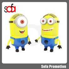 2015 hot sale cute minions toy model usb flash drive 16gb
