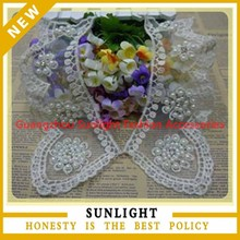 Wonderful and charming indian lace for neck collars
