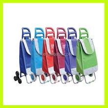 Promotional folding Shopping Trolley Bag, shopping cart