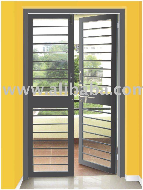 Galvanizado puertas de acero que se llama como franc s - Puerta de acero galvanizado ...