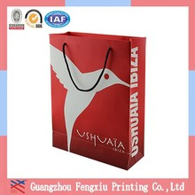 Any Size Fancy Advertising Laminated Reusable Shopping Bag