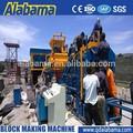 tamanho padrão manual de bloco de concreto oco máquina de moldagem