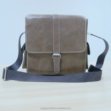 Brown Vintage Men's Camera Bag Shoulder Strap Crossbody Hand Bag 2015