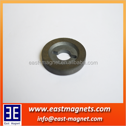 Ring shape Sintered Ring Ferrite magnet with multiple poles