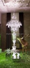 Modern big baccarat crystal chandelier floor lamp