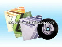 Wholesale black blank cd for storing digital images&music