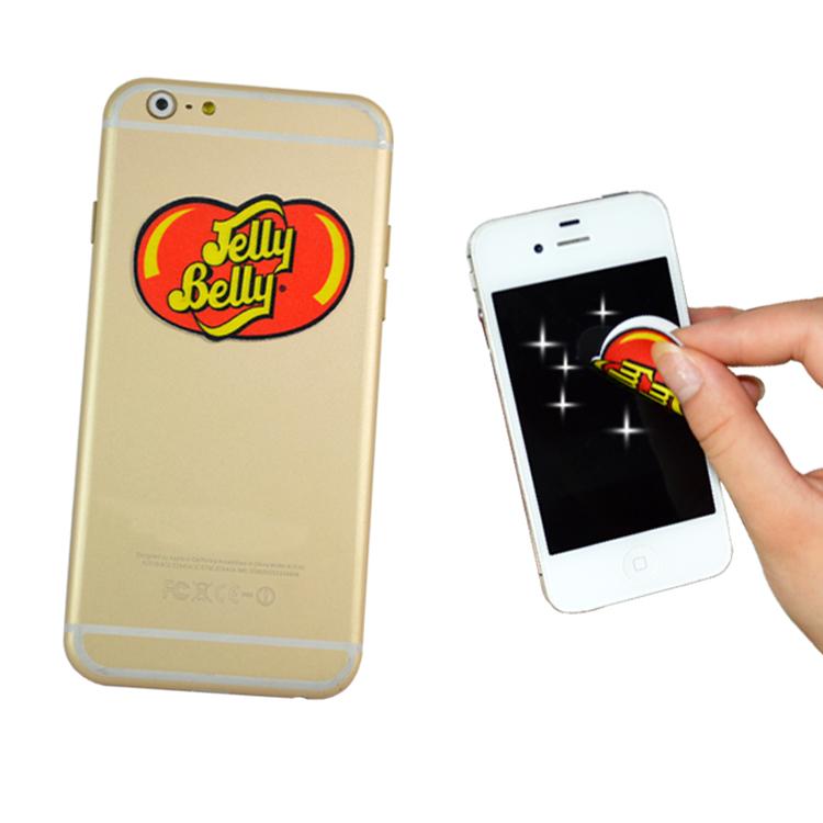 Publicité numérique photo téléphone cellulaire d'impression cleaner sticky