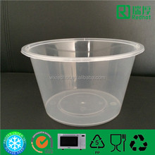 1500ml Plastic Injection Food Container Can Be Taken Away /take out box plastic clear