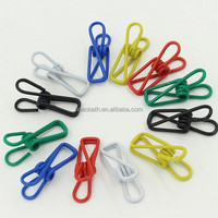 manufacturers selling multi-purpose high quality color metal clothes clip