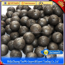 Welded wrought iron hollow metal ball