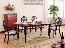 de madeira novo estilo sala de jantar conjuntos