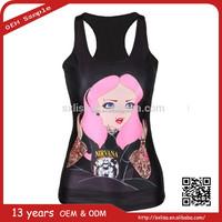 china supplier wholesale sleeveless pullover women summer laser gun and vest manufacturer