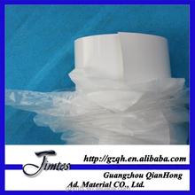 high quality white glue 80micron 120gsm pvc poly adhesive car vinyl