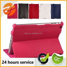 2015 High quality top selling belt clip case for ipad mini leather case,for ipad mini smart case