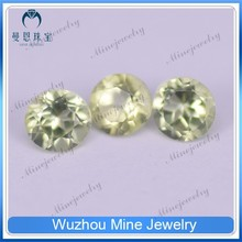 small size semi precious gems round shape peridot natural gemstone