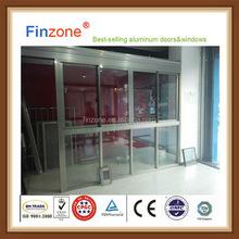 Popular useful aluminum sliding horizontal window