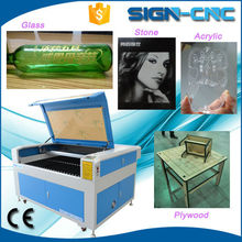 SIGN 1290 high precision 10mm acrylic laser engraving cutting machine