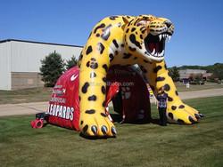 2015 International Inflatable Animal Leopard Helmet For Sale