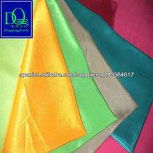 en relieve satén poli tela de alta calidad tela del forro