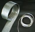 Trenza plana y flexible de cobre estañado