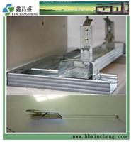 Galvanized profile for gypsum board