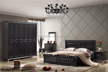 2014 bedroom set luxury best selling fashion double bed hotel furniture