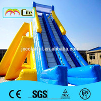CILE Popular Giant Inflatable Bouncy Water Slide for Adult