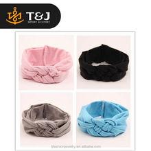 <<<High Performance New Soft Toddler Infant Girls Baby Kids Knitted Knot Cross Headwear Headband/