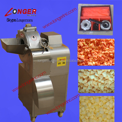 Factory Outlet Fruit and Vegetable Cube Cutting Machine|Restaurant Type Diced Fruit Cutter